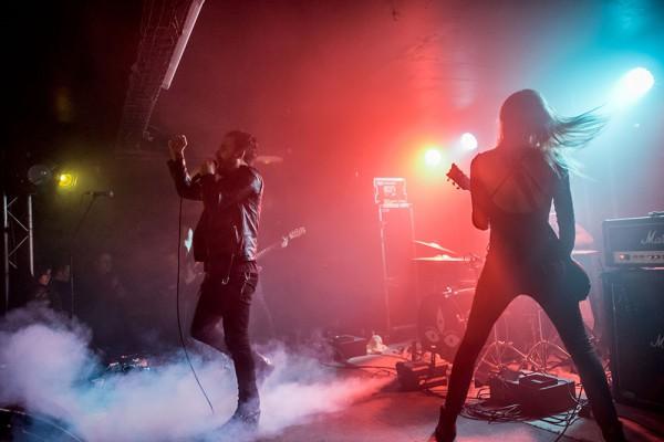 Grave Pleasures, Beastmilk, live, glazart, Metal, Rock,