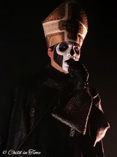Ghost, Papa Emeritus, Tobias Forge, Ghouls, Rouen, 106