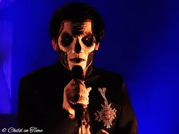 Ghost, Papa Emeritus, Tobias Forge, Live, Le 106, Rouen,