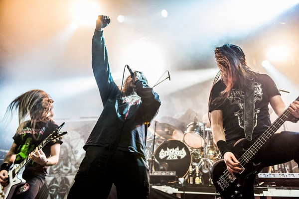 Entombed a.d, 2016, paris, live report, behemoth, la cigale, entombed,