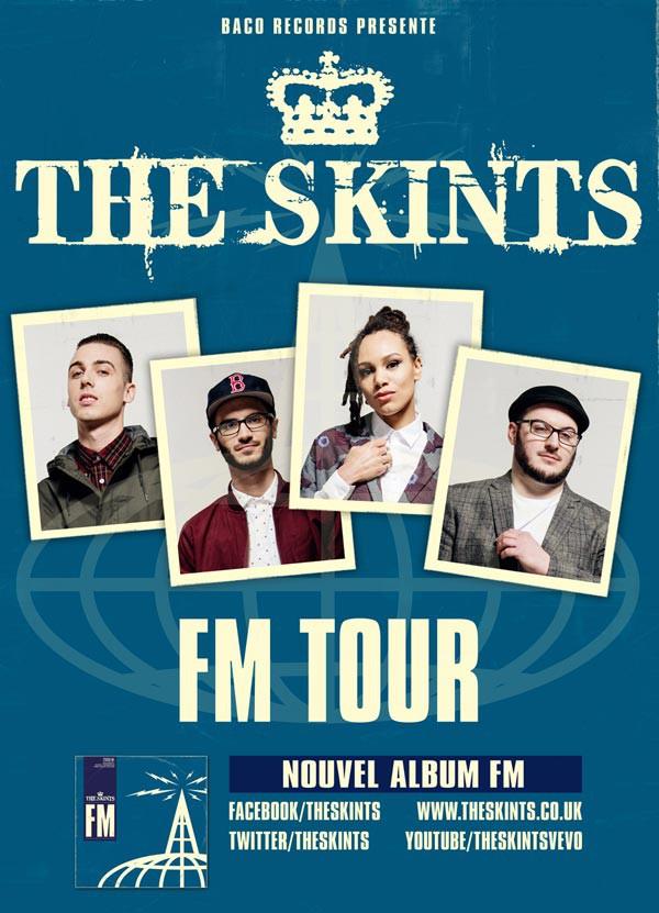 The Skints - FM tour