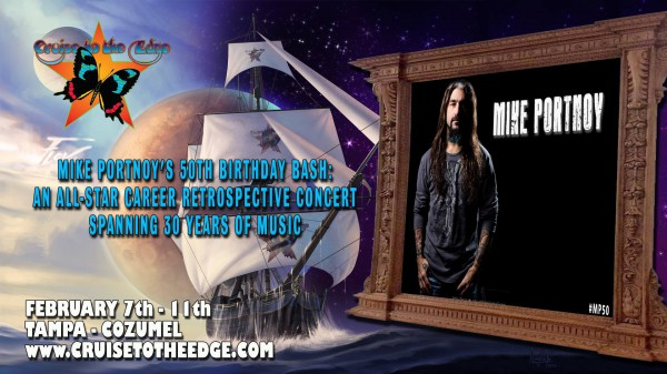 Mike Portnoy, Cruise to the Edge, #MP50, 50th anniversary, Dream Theater,