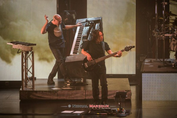 Dream Theater, Rudess, Myung, Astonishing, Palais des Congrès,
