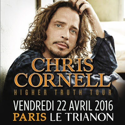 Chris Cornell, Soundgarden, le Trianon, concert