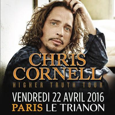 Chris Cornell, Soundgarden, le Trianon, concert