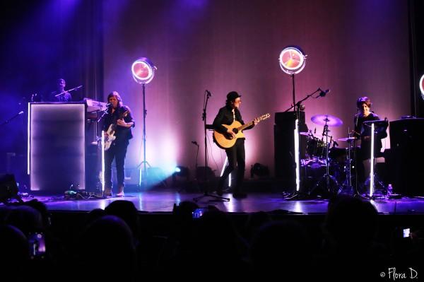 Rover, musiciens, live, tournée