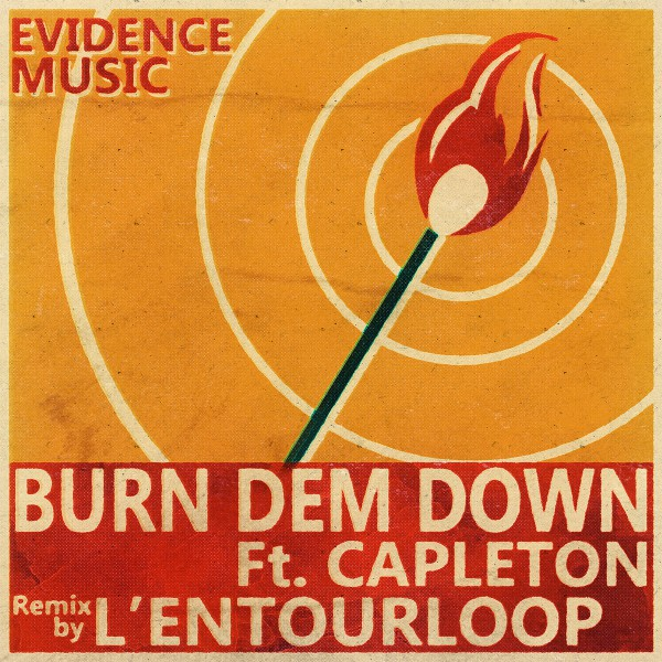 evidence music, remix, capleton, l'entourloop