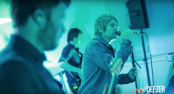 enter shikari, deezer, live session, live, france, 2016