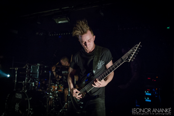 Heart of a coward, live report, paris, 2016, backstage, decapitated,
