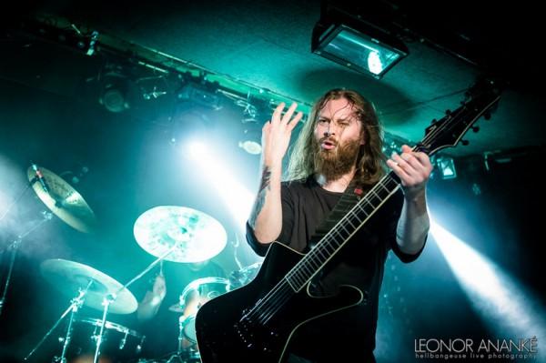 Decapitated, nuclear blast, death metal, 2016, paris, live report,