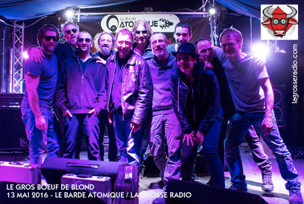blond, le gros boeuf, live, interview, barde atomique