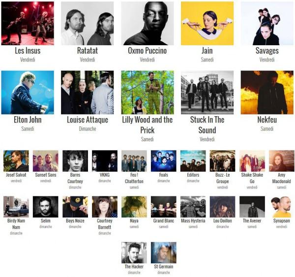 Musilac, festival, Aix les Bains, édition 2016, les Insus, Elton John, louis Attaque