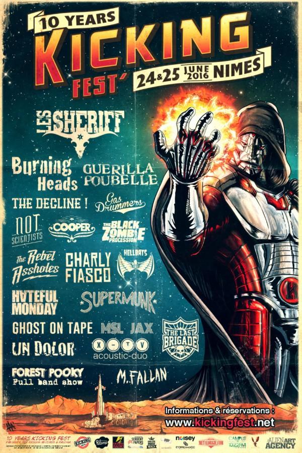 Kicking Fest, Kicking Records, Mr Cu, Paloma, Burning Heads, Sheriff