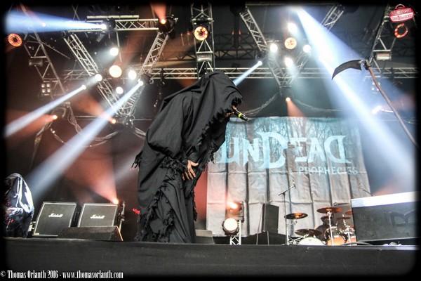 Undead Prophecies, Death Metal, Hellfest, 2016, Altar,