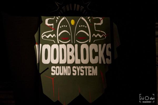 le grand bastringue, cluny, woodblocks sound system