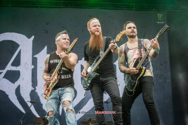 Atreyu, concert, france, hellfest, 2016, metalcore