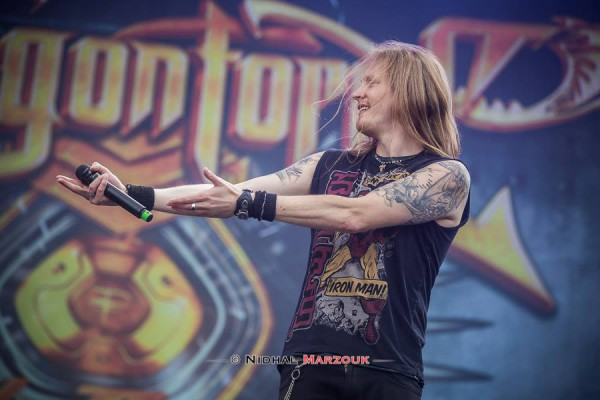 DragonForce, Herman Li, Hellfest, Mainstage, Power metal, Guitar hero