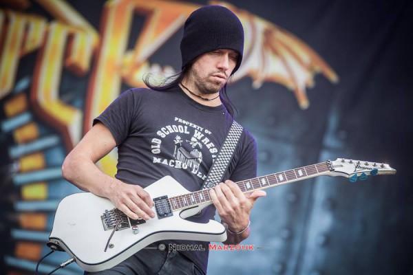 Hellfest, Sam Totman, Herman Li, Power metal, DragonForce, Mainstage,