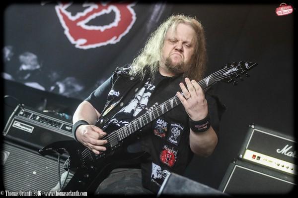 Entrails, death metal, suède, altar, hellfest 2016,