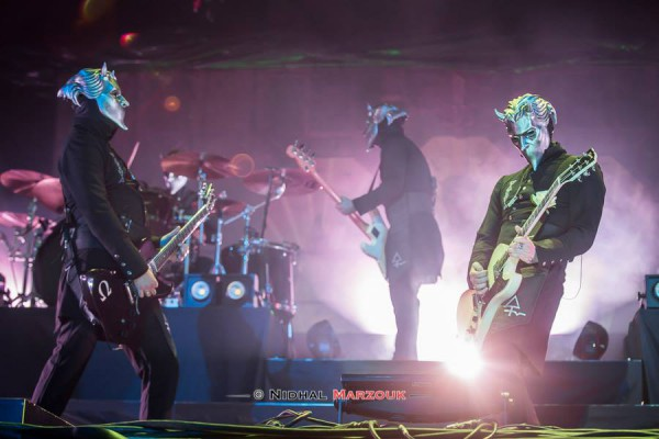 Ghost, Hellfest, Nameless Ghoul, Papa Emeritus,