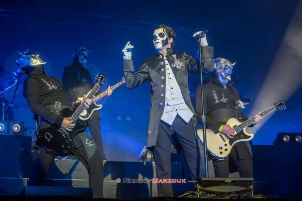 Ghoul, Papa Emeritus, Ghost, Metal, Hellfest, Mainstage,