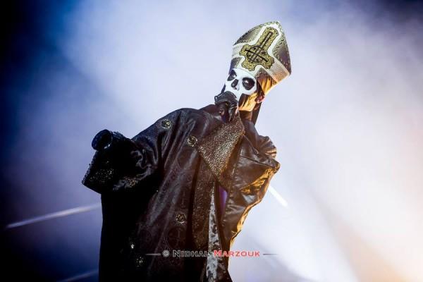 Ghost, Papa Emeritus, Hellfest, Mainstage, Nameless Ghoul, Metal,
