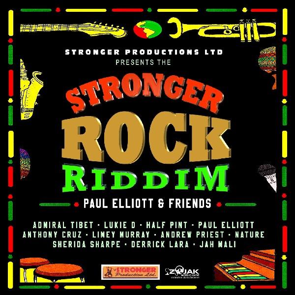Paul Elliott, One riddim, reggae 2016, Stronger rock