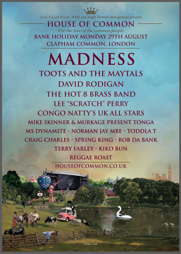 Madness, Toots & The Maytals, House of common