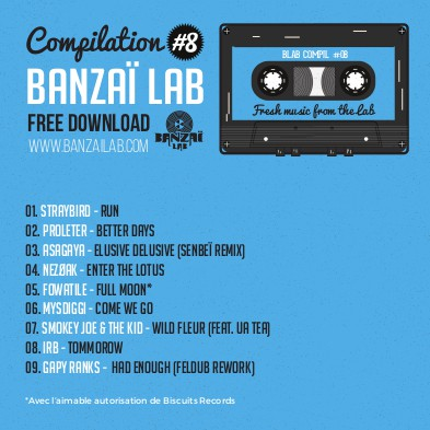 banzaï lab #8, smokey joe & the kid, bordeaux, hip-hop