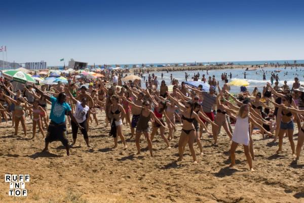 African dance beach rototom 2016
