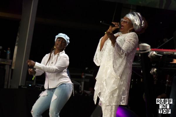 Marcia Griffiths & Asham band rototom 2016