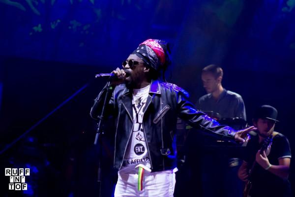 Michael Rose & Dub Akom rototom 2016