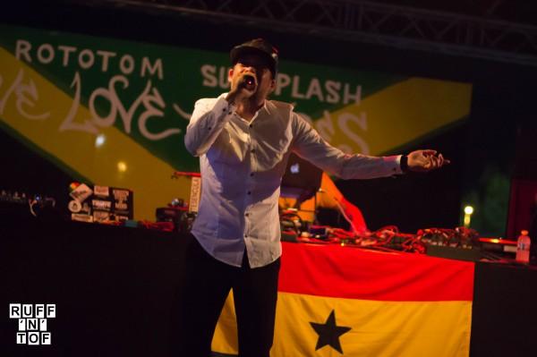 Mr Aya Dancehall stage rototom 2016