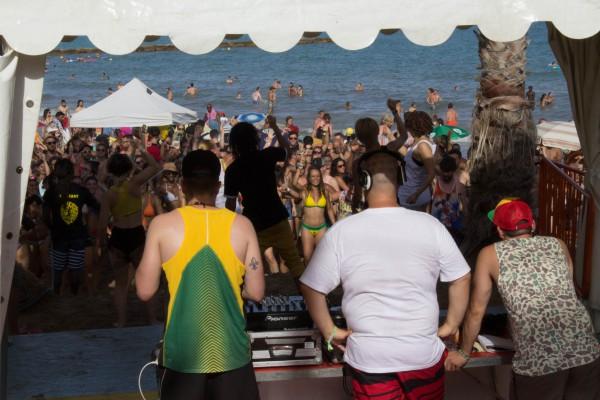 Dancehall beach rototom 2016