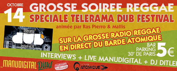 Emission Telerama Dub Festival 2016 sur La Grosse Radio