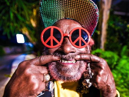 Lee Perry, crédit photo Andrea Dautelle, Reggae.fr