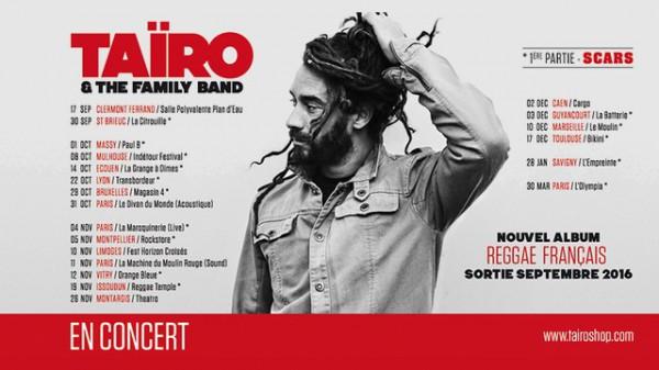 Taïro album Reggae Français 2016