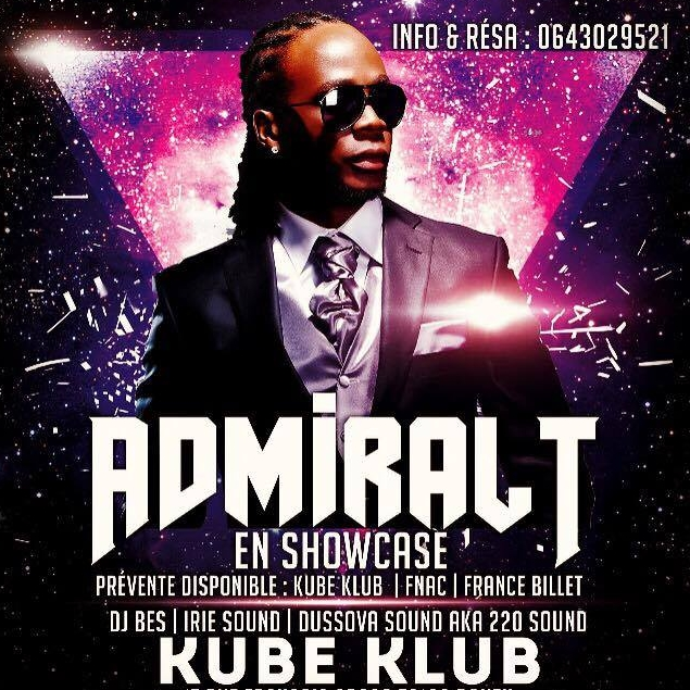 admiral-T kube club irie sounds
