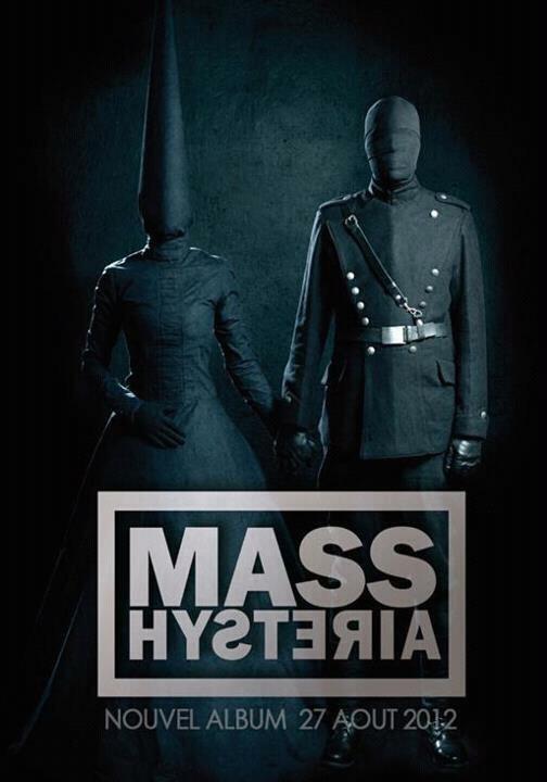 Mass Hysteria nouvel album 27 août 2012 l'armée des ombres