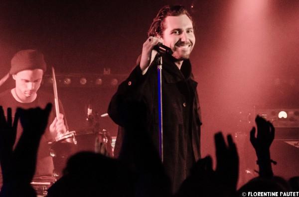 you me at six, YMAS, rock, punk, concert, paris, backstage, florentine pautet