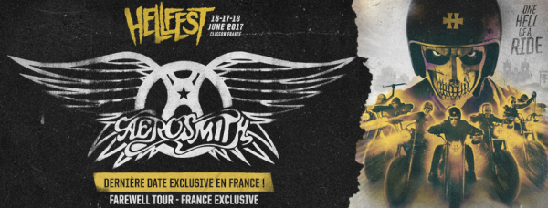 Aerosmith, metal, hellfest, headliner, line up, tête d'affiche, 2017, hard rock,