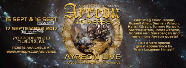 Ayreon, Universe, metal, prog, Arjen Lucassen,