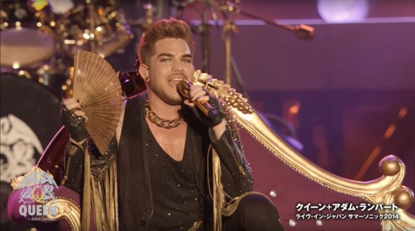 Queen + Adam Lambert, DVD Live In Japan