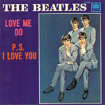 the beatles, love me do, pop music, 50 ans