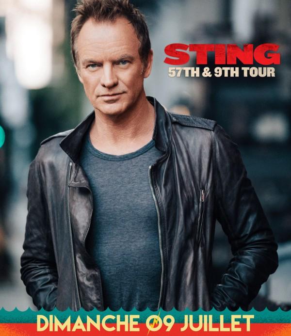Sting Déferlantes 2017
