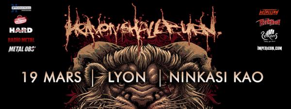 metalcore, lyon, ninkasi, 2017, allemagne, weimar