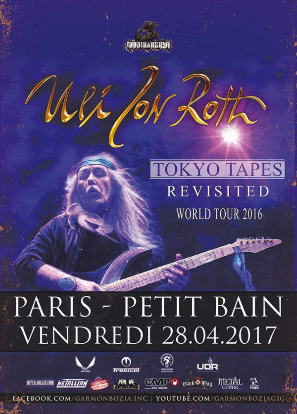 ulrich roth, uli, scorpions, in trance, tokyo tapes, concert, exceptionnel