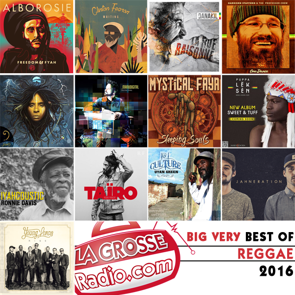big very best of reggae 2016, pochettes, albums