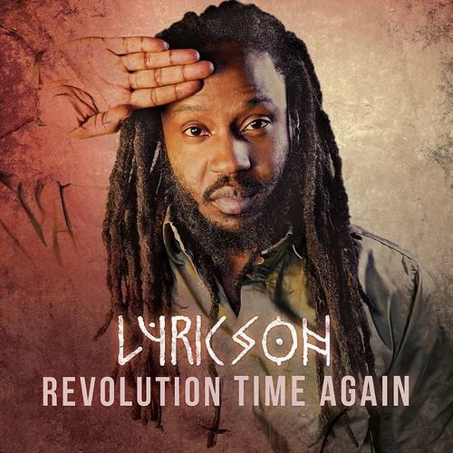 Lyricson Revolution Time Again cover