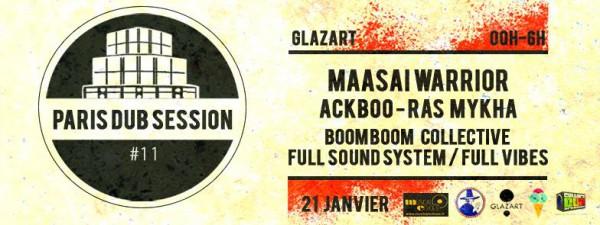 paris dub session, #11, glazart, paris